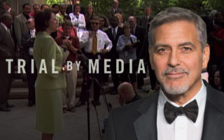 George Clooney Trial by Media