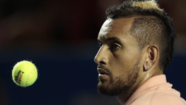 Nick Kyrgios determined to keep calling out poor behaviour from Novak Djokovic