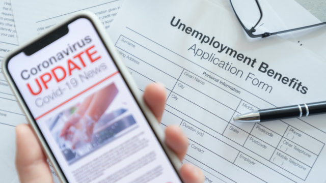 Just under 600,000 Australians are out of work due to the coronavirus shutdown.