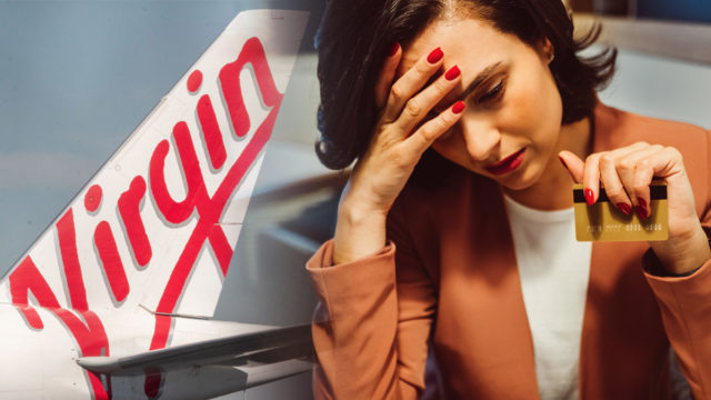 Major banks have been slammed for charging sky-high interest rates on credit cards tied to Virgin's frequent flyer program.