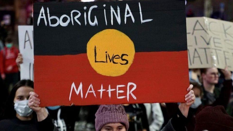 blm protest scott morrison
