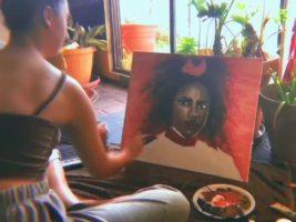 woman artist murder brother