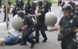buffalo police man shove