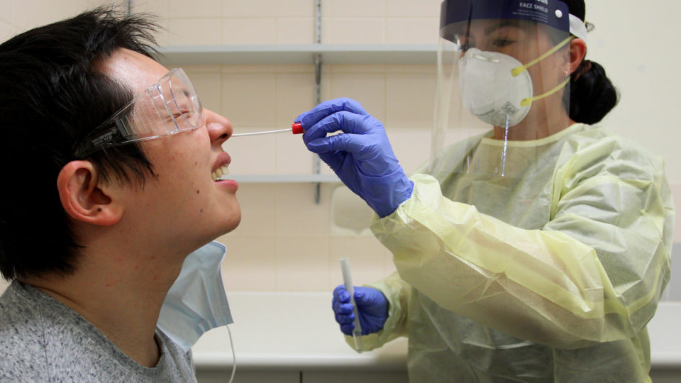 virus testing quarantine australia