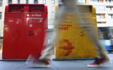 two australia post letter boxes