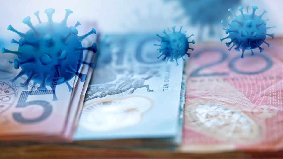 Cash has become taboo during the pandemic.