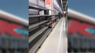 Kmart empty shelves