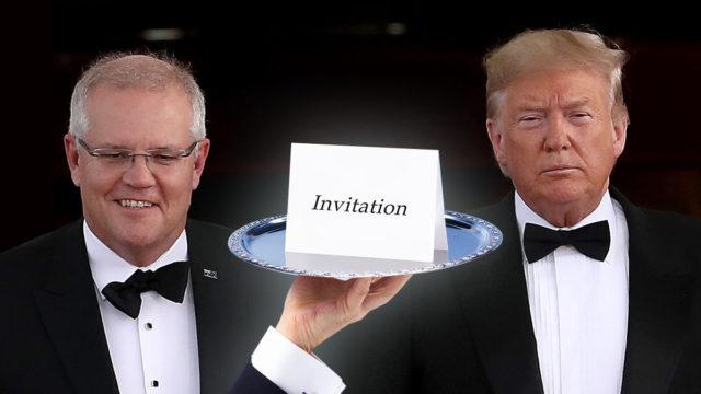 Dennis Atkins: Visit Donald Trump's G7 gala? Scott Morrison should say no