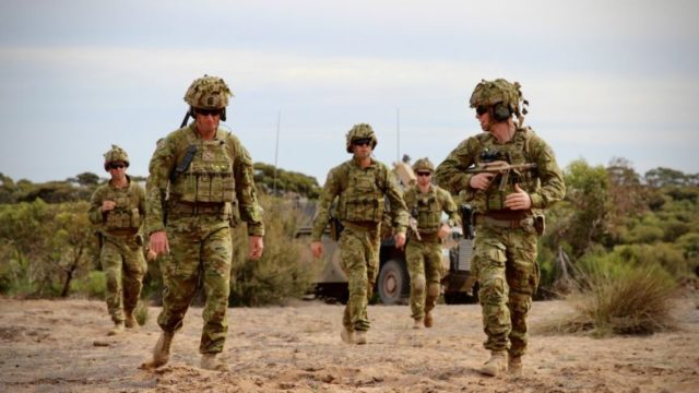 Defence recruiting soars as Australians look for work amid downturn