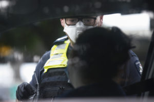 victoria police lockdown