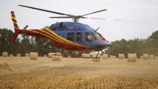 helicopter crash steam plain