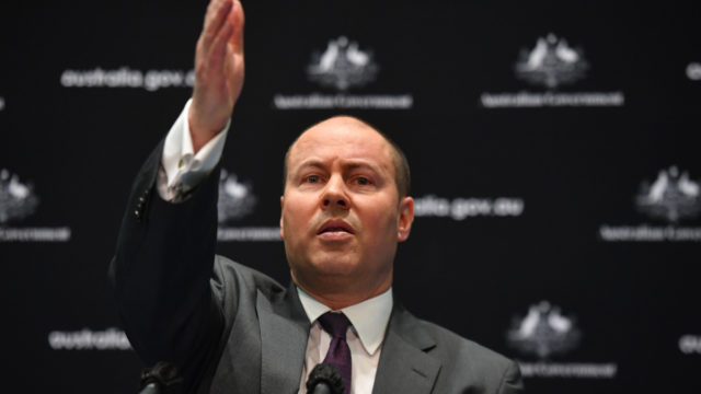 Treasurer Josh Frydenberg says the budget is all about jobs.