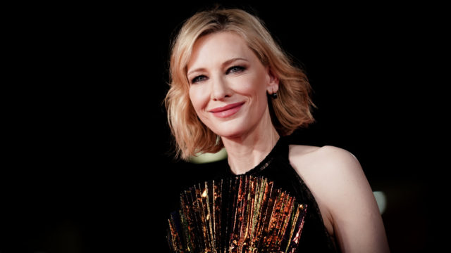 To save the arts industry, Cate Blanchett recommends … giant what?