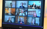 A virtual session broadcast on Scottish Parliament TV on June 25, 2020 in Edinburgh, Scotland