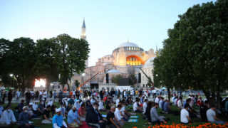 hagia sophia muslim prayers