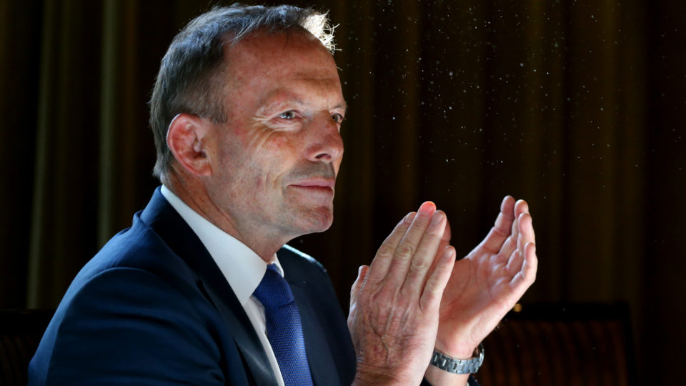 tony abbott coronavirus pay cut