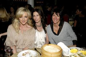 Jane Krakowski, Carole Radziwill and Ghislaine Maxwell 2007
