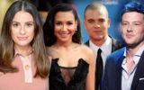 Lea Michele Naya Rivera Mark Salling Cory Monteith
