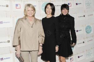 Martha Stewart, Kira Faiman, Ghislaine Maxwell