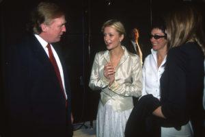 Donald Trump Paris Hilton Ghislaine Maxwell