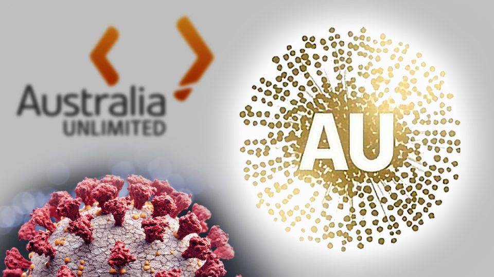 australia trade wattle logo