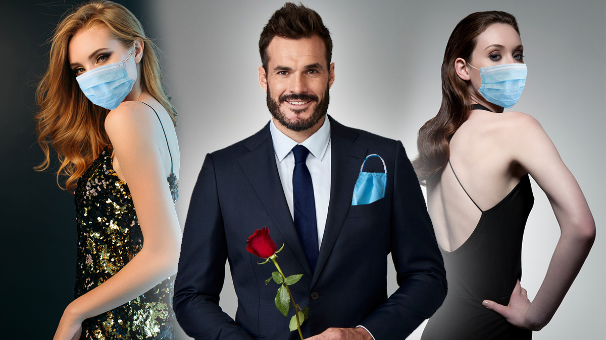 The Bachelor Cast Get Up Close And Personal Pandemic Be Damned