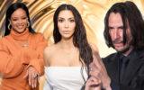 Rihanna, Kim Kardashian, Keanu Reeves