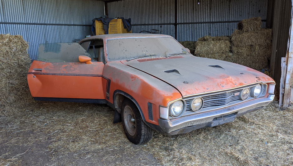Rare Falcon Coupe Found In Chicken Coop Attracts Big Bids At Auction
