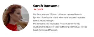 Sarah Ransome