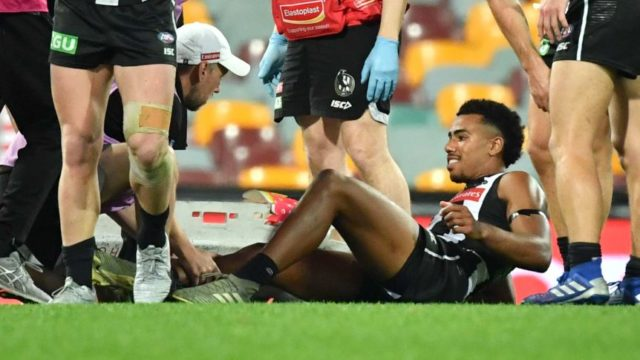 AFL investigate boots involved in Isaac Quaynor injury