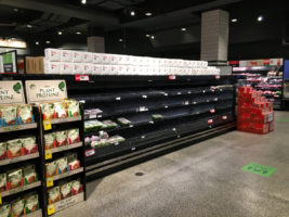 food shortages melbourne lockdown