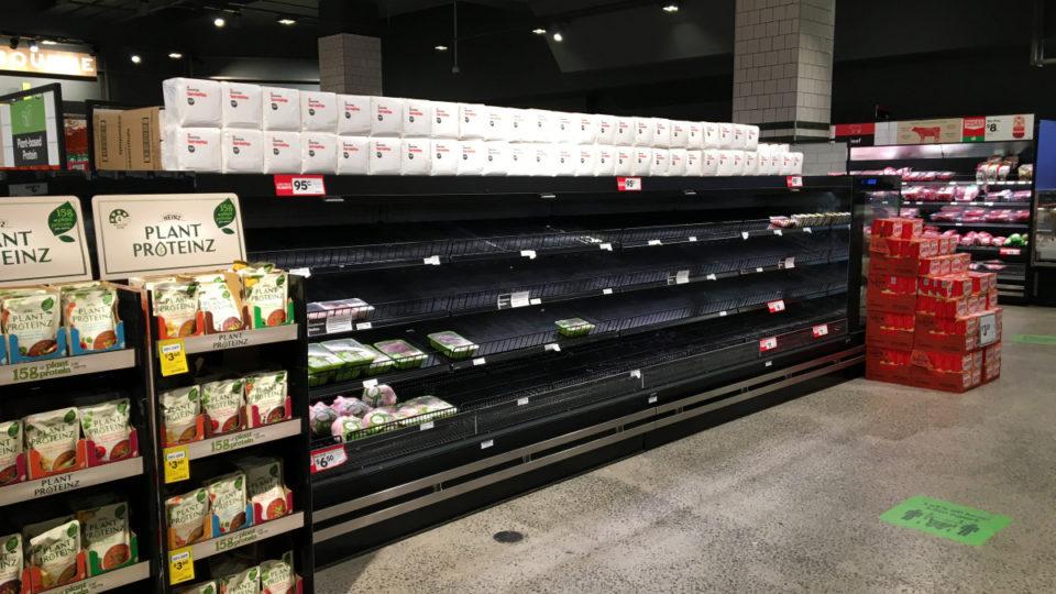 food shortages melbourne lockdown