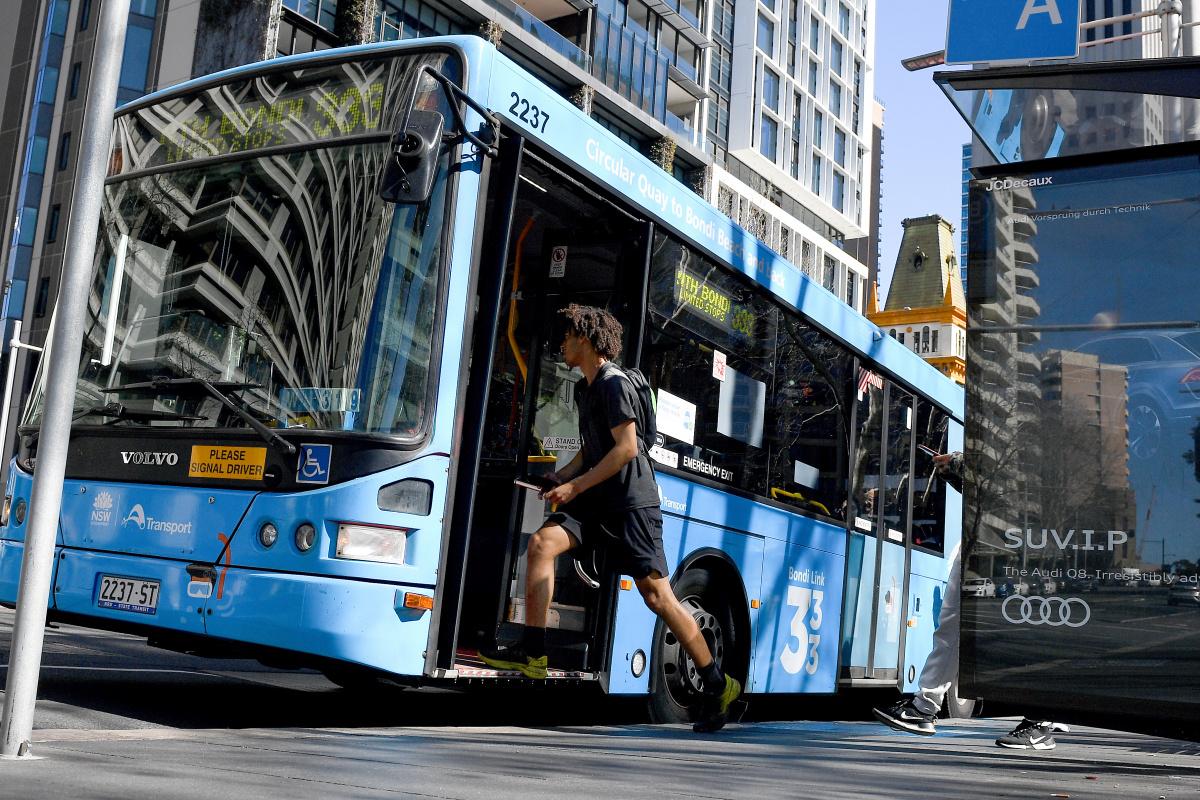 sydney bus coronavirus