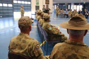 australian soldier weight