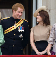 Prince Harry Princess Eugenie