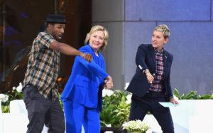 DJ tWitch Hillary Clinton Ellen DeGeneres