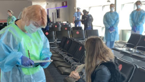 sydney airport checks virus