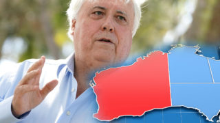 clive palmer federal court border