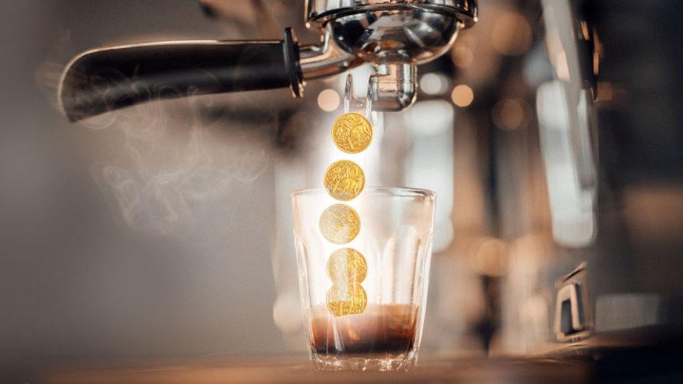 Coffee shops are helping Australia's economy.