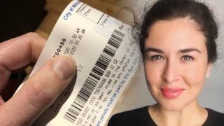 doctor parking ticket