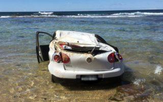 newcastle car beach