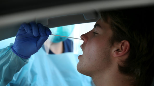 Workplace testing boost as plunge in numbers sparks fears of virus' spread