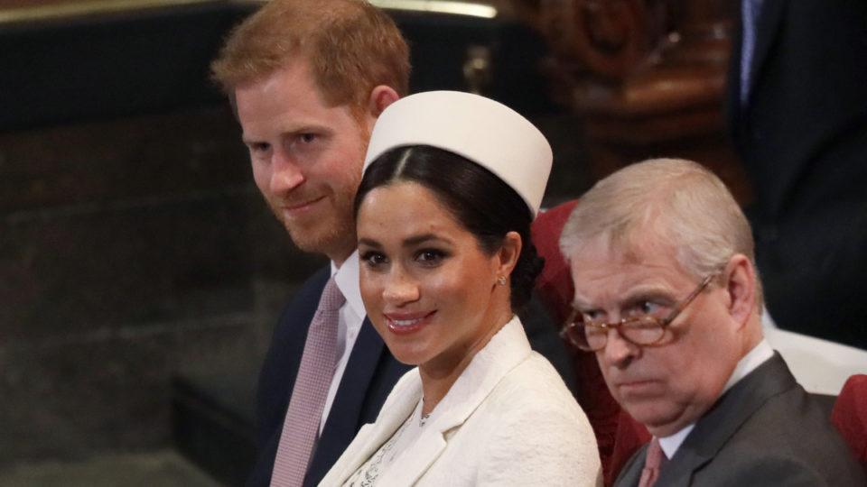 Prince Harry, Meghan Markle, Prince Andrew