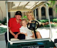 Donald Trump Tiffany Trump Marla Maples