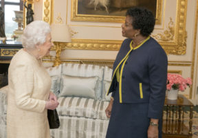 barbados queen head state