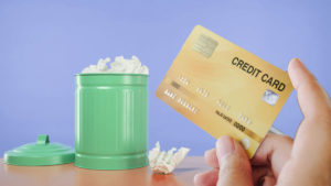 Coronavirus has prompted Australians to ditch their credit cards.