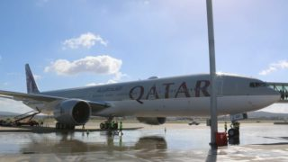 qatar strip search