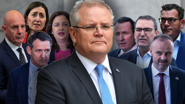 Dennis Atkins: The border battle pits Scott Morrison against his 'Quiet Australians'