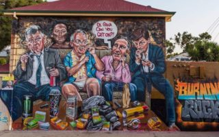 scott marsh politicians mural ice