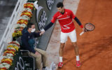 novak djokovic french open linesman